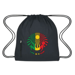 Rasta Cinch Bag