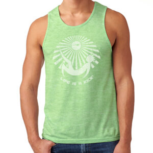 Mens Luna Tank - Green