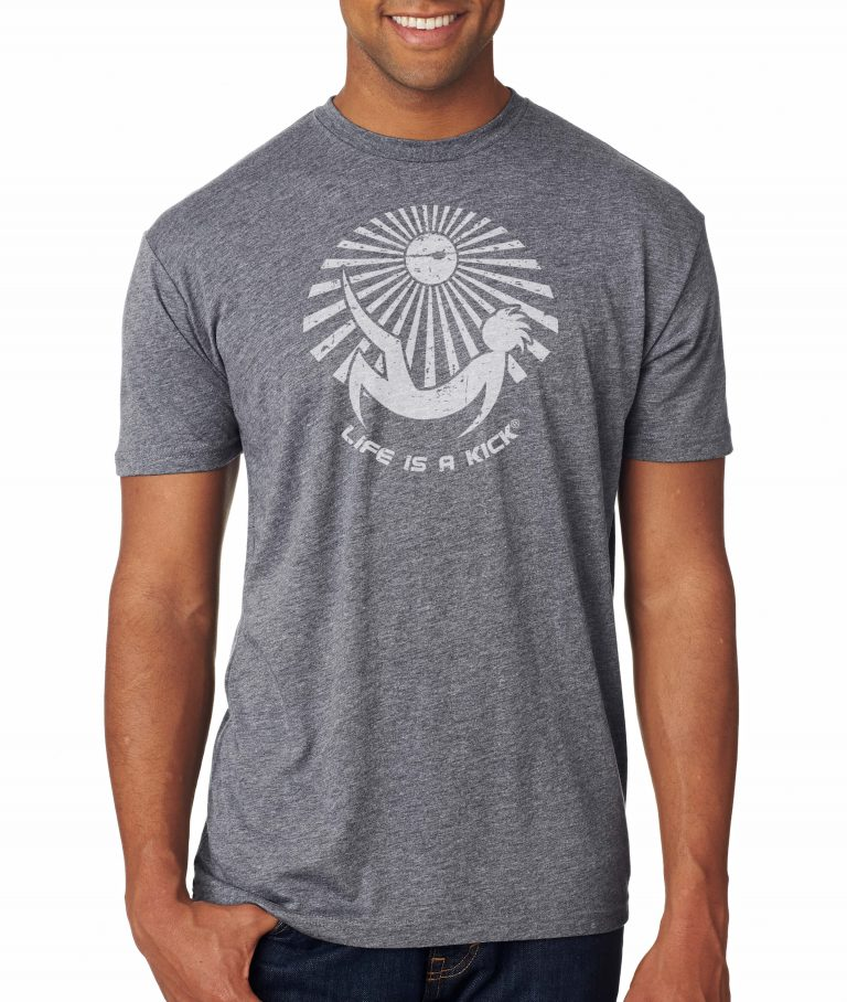 Mens Luna Tee - Grey