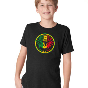 Boys Rasta Tee - Black